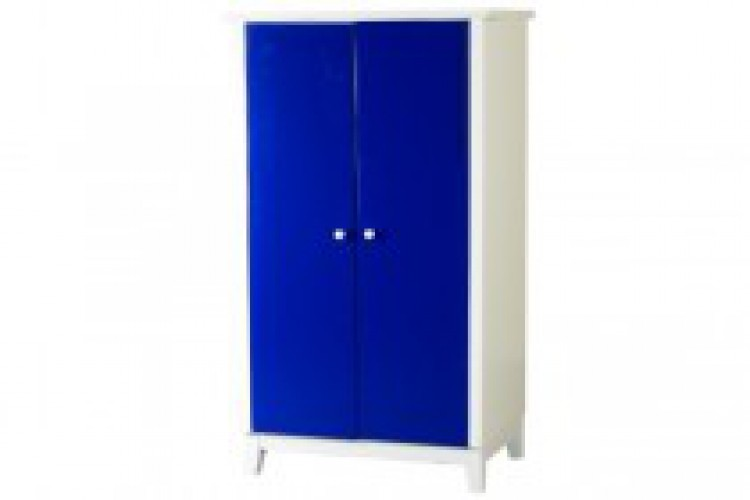 Sweet Dreams Kipling Ruby Blue 2 Door Wardrobe
