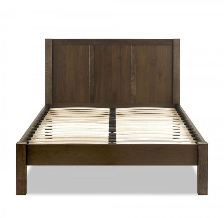bentley designs lyon walnut 6ft super kingsize bed frame by bentley