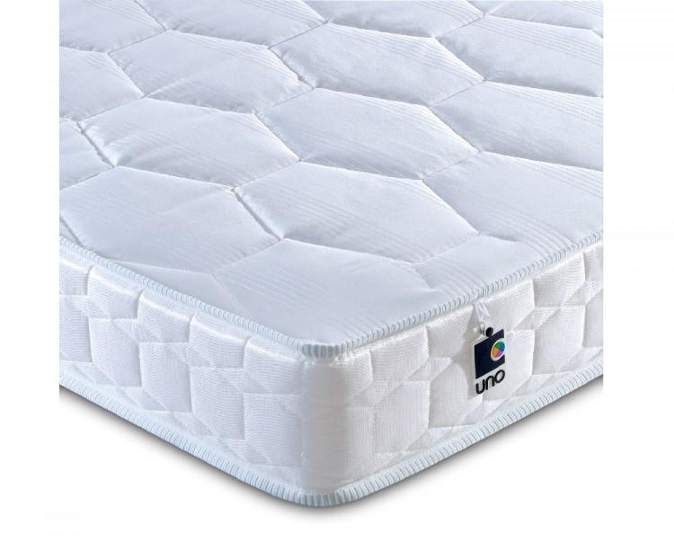Breasley Uno Deluxe 4ft6 Double Foam Mattress Bundle Deal By Bundles