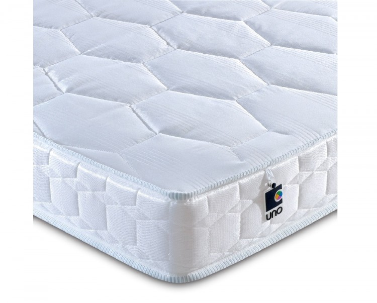 Breasley Uno Deluxe 5ft King Size Foam Mattress Bundle Deal By Bundles