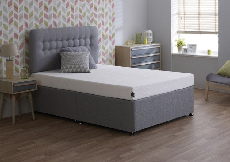 Breasley Uno Revive 4ft6 Double Memory Foam Mattress Bundle Deal By Bundles