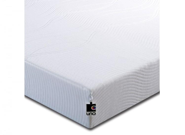 Breasley Uno Vitality 4ft6 Double Memory Foam Mattress Bundle Deal By Bundles
