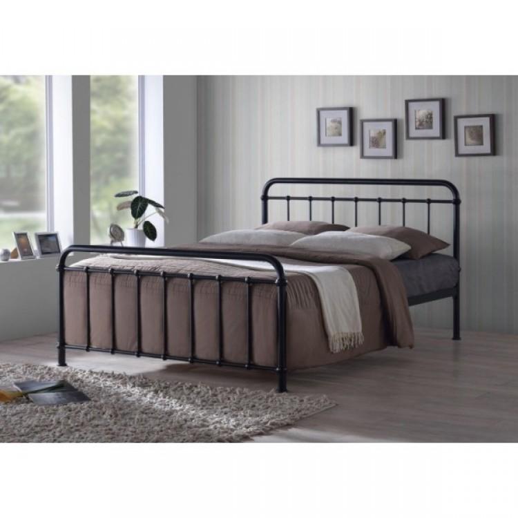 Sleep Design Henley 5ft Kingsize Black Metal Bed Frame by Sleep Design