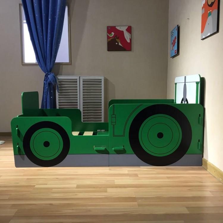 Kidsaw Jcb Digger Junior First Fun Fun Bed Frame
