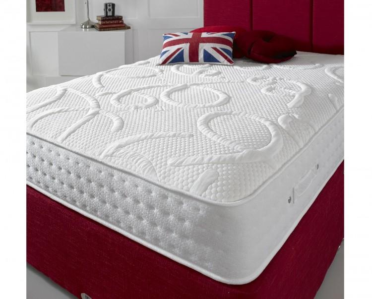 shire beds eco champion 4ft6 double 4000 pocket spring. Black Bedroom Furniture Sets. Home Design Ideas