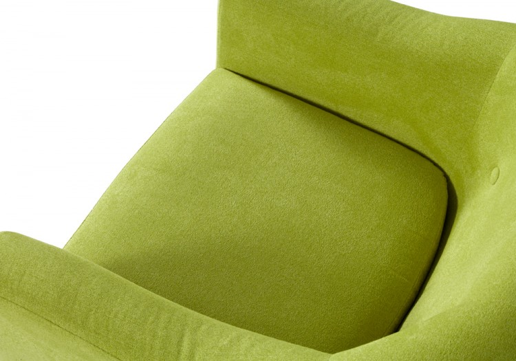 serene evie green fabric tub chair by serene furnishings