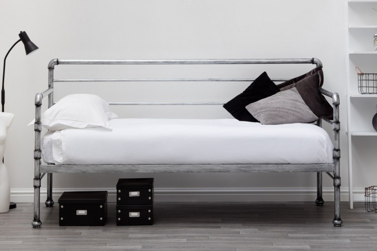 Sleep Design Banbury 3ft Single Metal Day Bed Frame By Sleep Design