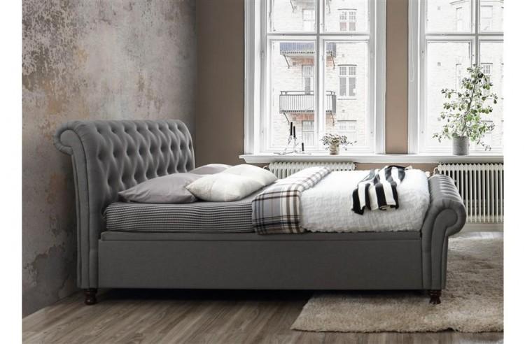 29367a9f783 ... Birlea Castello 4ft6 Double Grey Fabric Ottoman Bed Frame Birlea  Castello 6ft Super Kingsize ...