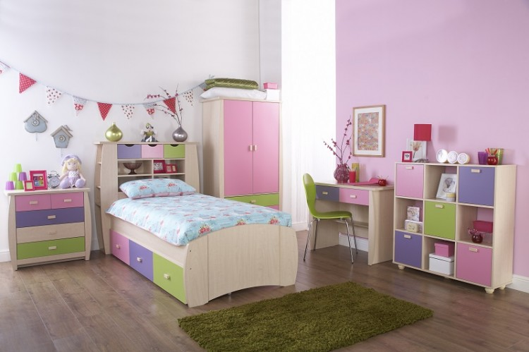 ... Sydney 3ft Storage Bed Frame Pink and Lilac GFW ... & GFW Sydney 3ft Storage Bed Frame Pink and Lilac by GFW