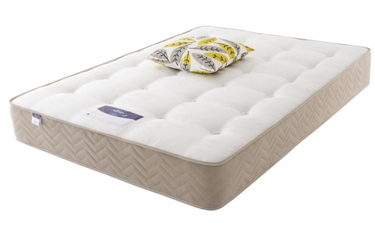 Silentnight Amsterdam 4ft Small Double Miracoil Ortho Divan Bed By Silentnight Beds