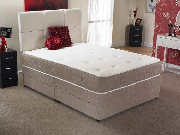 La romantica melbourne 4ft small double 2000 pocket sprung for 4ft pocket sprung divan beds