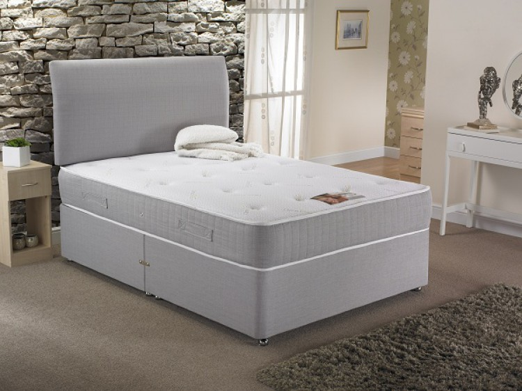 La romantica vienna 6ft super kingsize 1500 pocket with for 6 foot divan