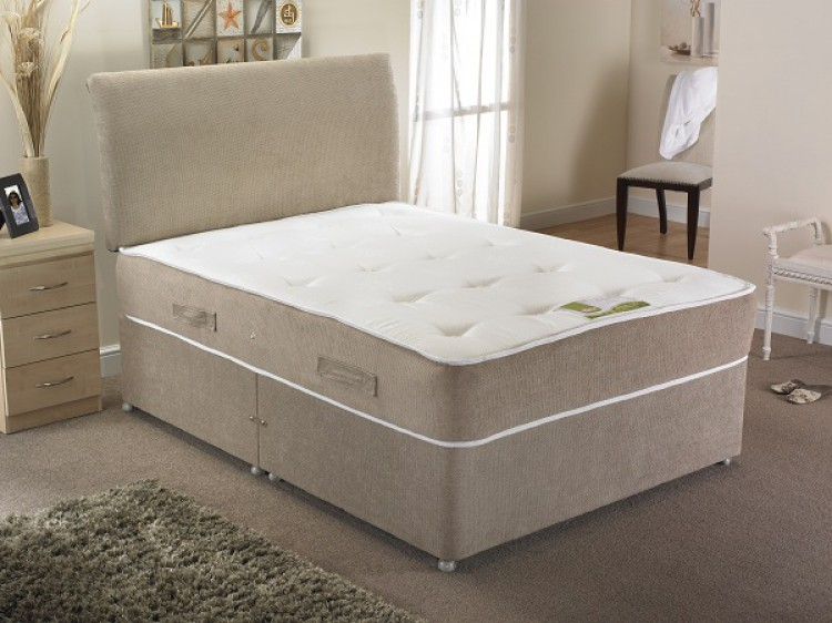 La Romantica Venice 4ft6 Double 1500 Pocket With Memory Foam Divan Bed By La Romantica