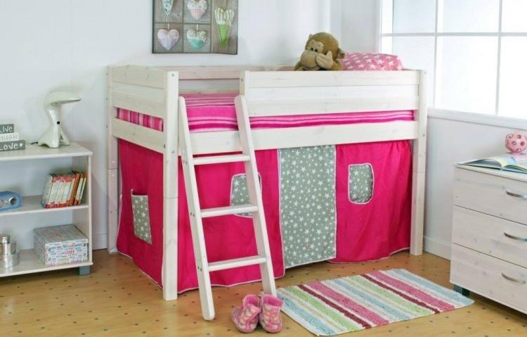 Thuka Trendy Shorty C Midsleeper Bed With Slanting Ladder By Thuka