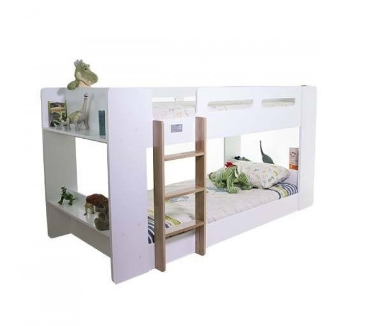 Flair Furnishings Joey Junior White Bunk Bed by Flair Furnishings