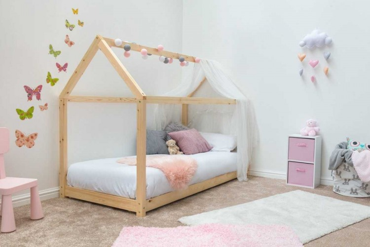 Sleep Design Treehouse 3ft Single Childrens Bed Frame In Pine by ...