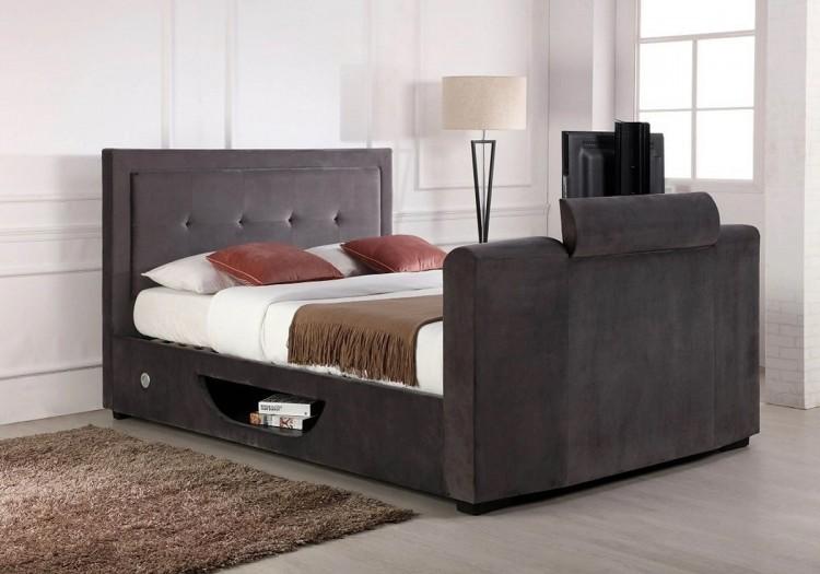 Excellent Flair Furnishings Juliet 5Ft Kingsize Ottoman Tv Bed In Forskolin Free Trial Chair Design Images Forskolin Free Trialorg
