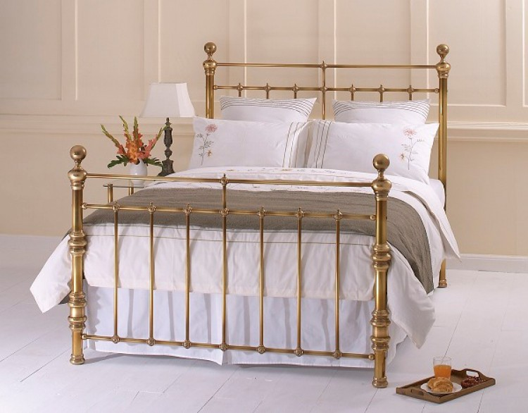 obc waterford ft kingsize brass metal headboard by original, Headboard designs