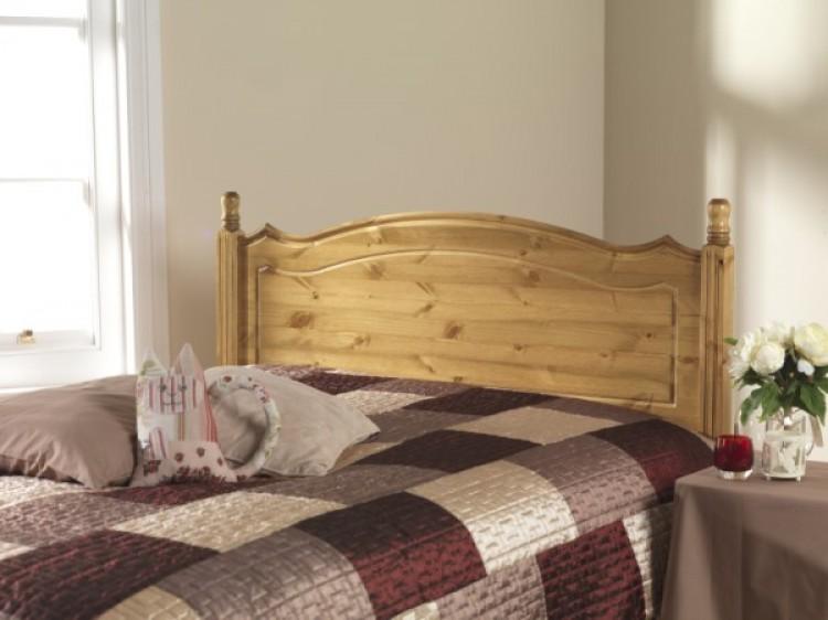 Friendship Mill Boston 2ft6 Small Single Pine Wooden Headboard By