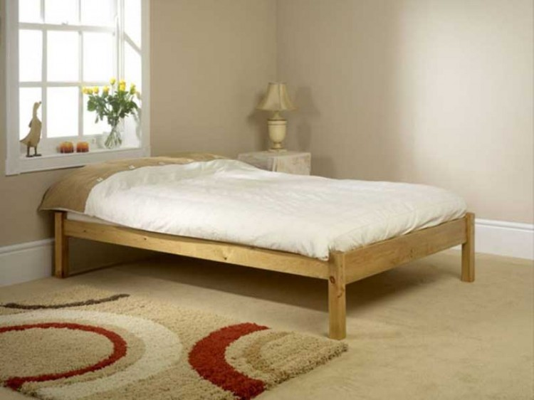 Friendship mill studio bed 3ft single pine wooden bed - Bed frames for small rooms ...