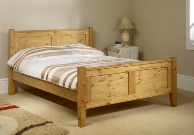 Friendship Mill Coniston High Foot End 6ft Super Kingsize Pine