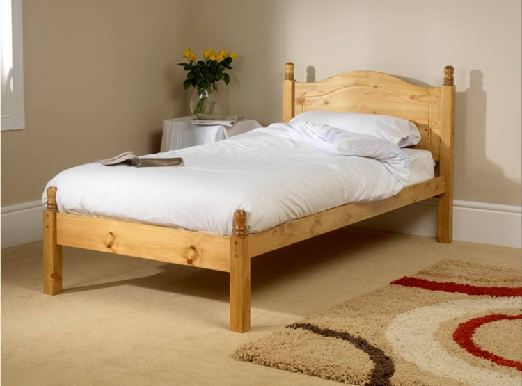 Merveilleux Friendship Mill Orlando Low Foot End 2ft 6 Small Single Pine Wooden Bed  Frame