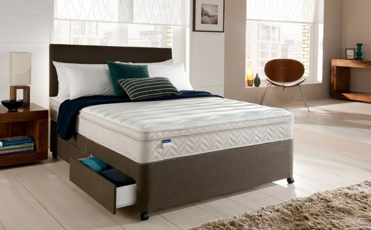 Silentnight Oslo 3ft Single Miracoil Spring System With Memory Foam Mattress By Silentnight Beds