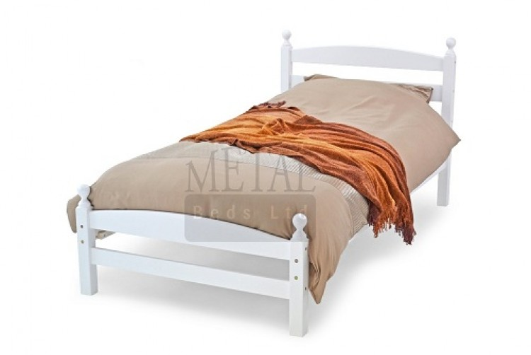 Image Result For White Wooden Bed Frame With Storage