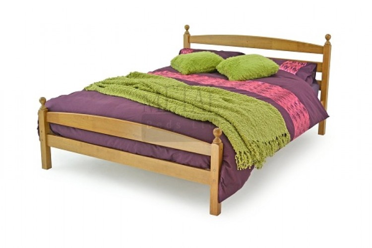 Metal Beds Moderna 3ft 90cm Single Maple Wooden Bed Frame