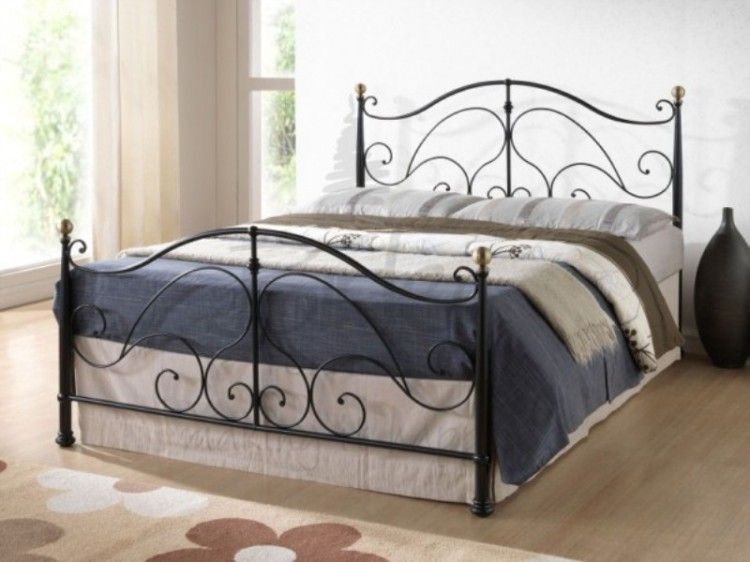 birlea milano black ft kingsize metal bed frame by birlea, Headboard designs