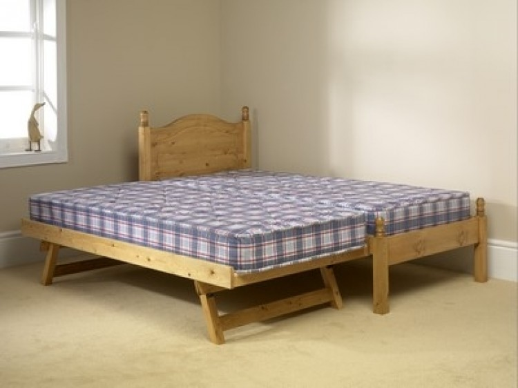 ... Small Single Pine Wooden Bed Frame Friendship ...