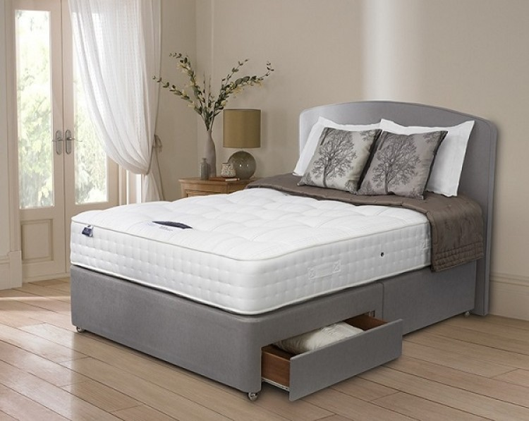 Silentnight Premier Pocket 2600 Pocket Spring 4ft 6 Double Divan Bed By Silentnight Beds