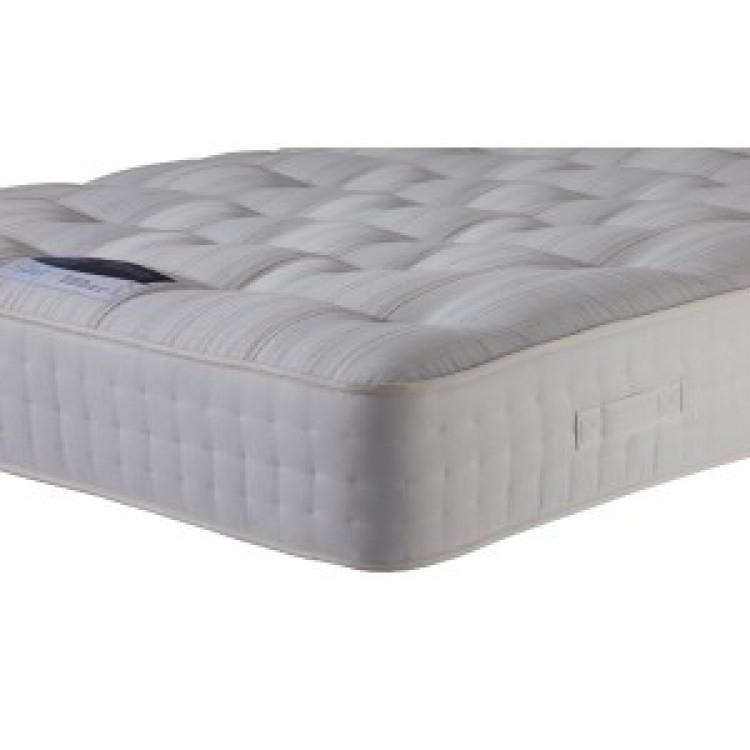 Silentnight premier pocket 2600 pocket spring 3ft single for Single divan bed with pocket sprung mattress