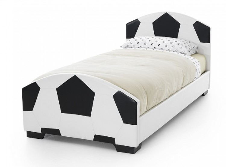 Serene 3ft Single Pallone Faux Leather Football Bed