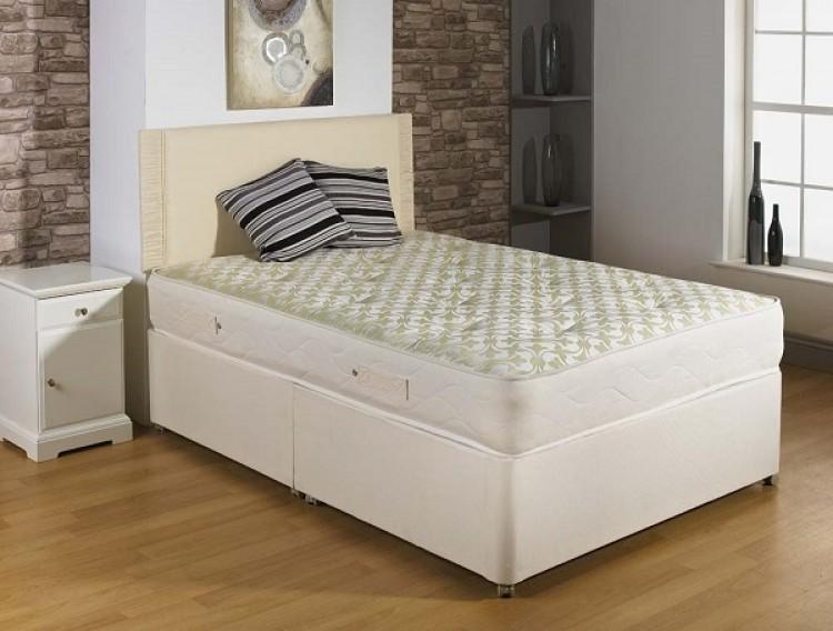 Joseph ortho supreme 3ft single open coil divan bed for Divan international
