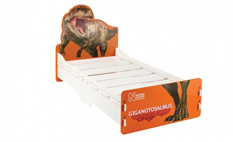 Kidsaw Natural History Museum Dinosaur 3ft Single Fun Bed
