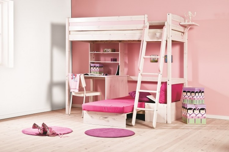 thuka trendy 29 high sleeper bed choice of colours by thuka. Black Bedroom Furniture Sets. Home Design Ideas
