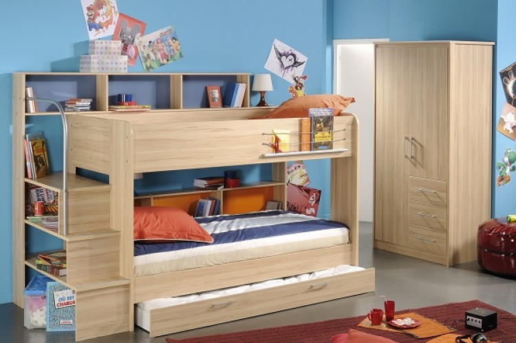 Parisot Thuka Beds Kurt Childrens Bunk Bed Frame By Parisot - Parisot bedroom furniture
