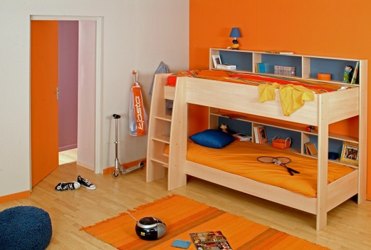 Parisot Thuka Beds Tam Tam 1 Childrens Bunk Bed Frame