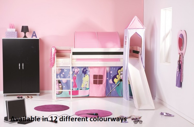 Thuka Trendy 17 Childrens Mid Sleeper Beds Available In 12