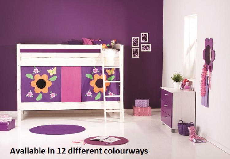 Thuka Trendy 22 Childrens Bunk Beds Available In 12 Colour Ways