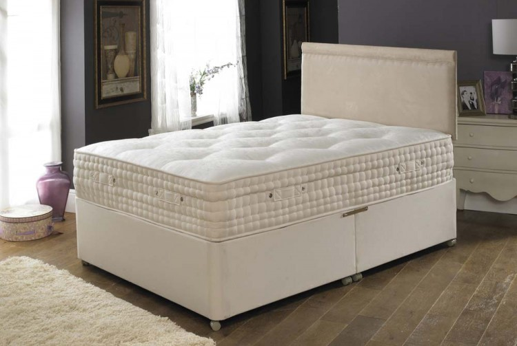 La romantica 4ft small double shantay memory foam mattress for Memory foam double divan bed sale