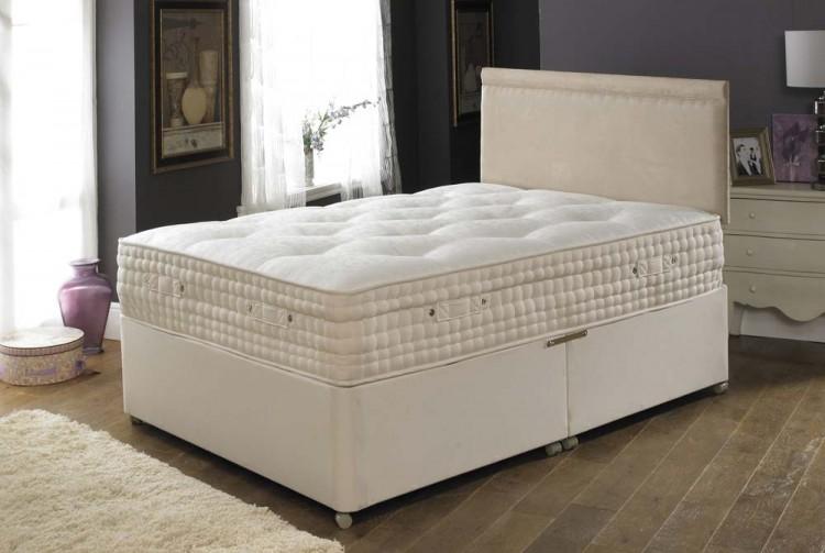 La romantica 4ft small double shantay memory foam mattress for Memory foam double divan bed sale