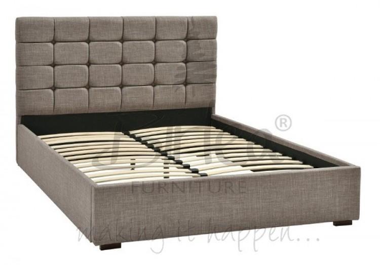 grey leather lounge