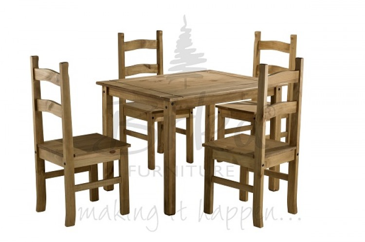 Pine Dining Table Set Coba Pine Dining Table Set 4  : 4816 birlea corona budget pine dining table set with 4 chairs from chipoosh.com size 750 x 498 jpeg 55kB