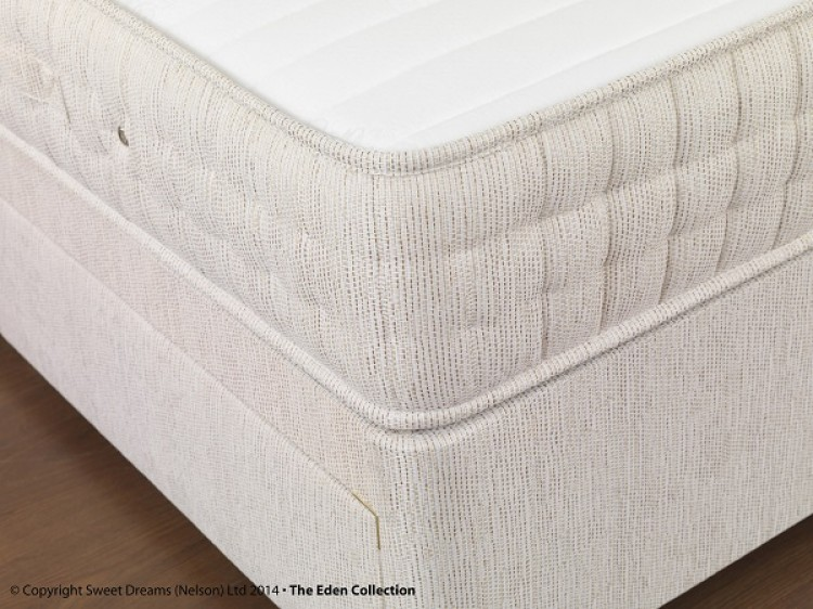 Sweet Dreams Fanfare 4ft6 Double 2000 Pocket Sprung Divan Bed With Memory Foam By Sweet Dreams