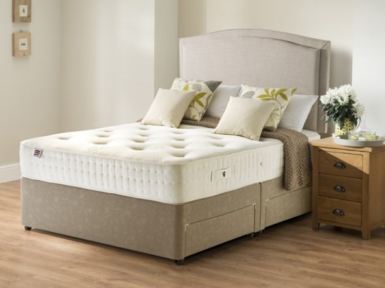 Rest assured belsay 3ft single 800 pocket ortho divan bed for Single divan bed without mattress