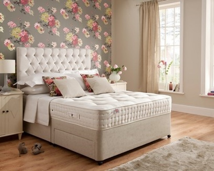 Rest assured boxgrove 3ft single 1400 pocket divan bed by for Single divan bed without mattress