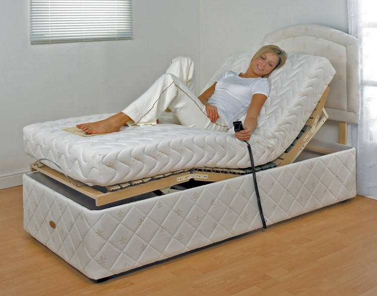 Furmanac Mibed Chloe 4ft6 Double Electric Adjustable Bed
