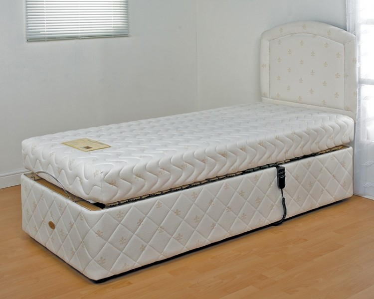 Double Adjustable Beds Electric : Furmanac mibed chloe ft double electric adjustable bed